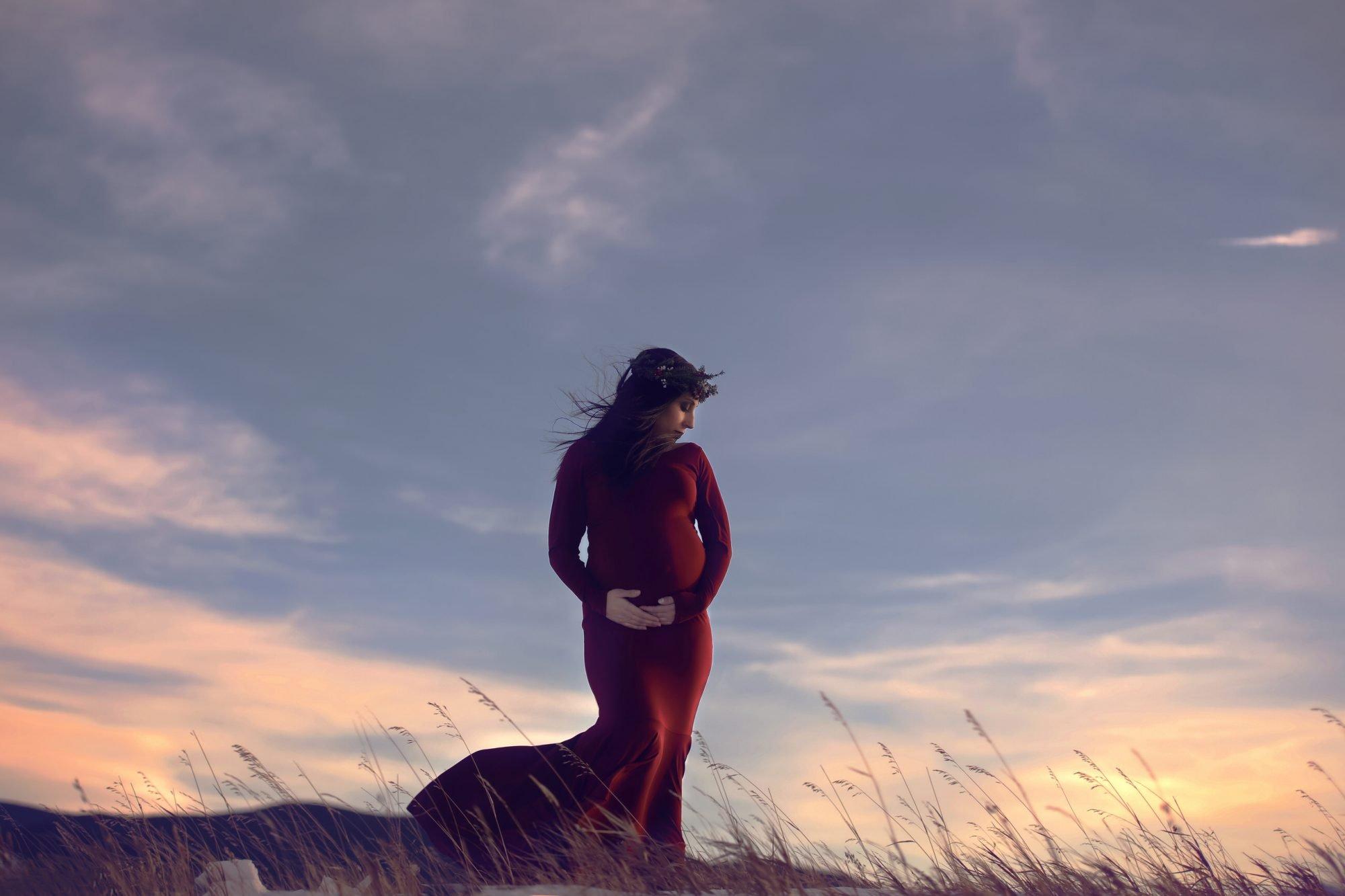 maternity photography calgary nw